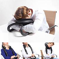 Ideashow черную шею,защищающий U-образная подушка подушка самолет автомобиль офис сон подушка путешествия