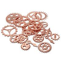 20шт старинных стимпанк часовые детали часы зацепляют винтики колеса заключения кораблей много