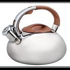 Чайник с нержавеющей стали со свистком многослойное дно 3.0 л FRU-1323