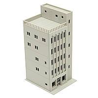 Модели железных дорог современный 5-этажное коммерческое здание неокрашенной п шкала для Gundam