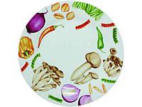 """Набор керамических тарелок """"Овощи"""" (d-26 см, 6 шт в упаковке) 75521 """"SNT"""""""