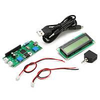 MS1602 аудио спектр отображения автомобильный музыкальный спектр 51 однокристальных ЖК-зеленый экран
