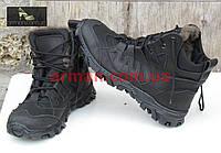 Зимние тактические ботинки (треккинг). Кожа+кордура. Новые.