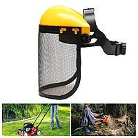 Сетка для цепной пилы Защитный шлем Logging Щетка Cutter Forestry Visor Hard Шапка