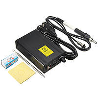 Цифровой паяльник станция регулируемая температура сварки припоя + T12 ручка