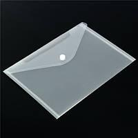 12шт прозрачные пластиковые a5 бумажные файлы держатель подачи мешок