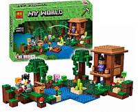 Конструктор BELA 10622 Хижина ведьмы 508 дет (аналог LEGO 21133 Minecraft)