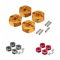 WLtoys обновить металлический шестигранник адаптер 7 мм до 12 мм a959-a979 б-б A969 A969 A969 K929 части автомобиля RC