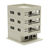 Outland модели железной дороги современный 4-этажное офисное здание неокрашенные 1:160 для Gundam