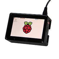 3.5-дюймовый HD экран высокоскоростной + соответствующий алюминиевый Вложите комплект для Raspberry Пи 3B 2b B+ Zero