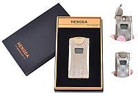 Зажигалка USB со счетчиком Hengda 4873