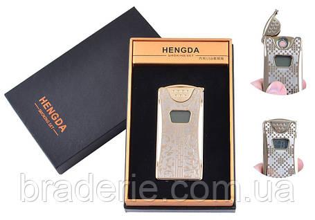 Зажигалка USB со счетчиком Hengda 4873, фото 2