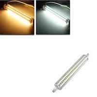 DIMMABLE R7s 189mm 13W 144 СМД 2835 LED теплый белый чистый AC85-265V лампа белого света лампы