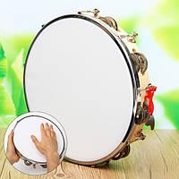 Полиэстер кожа пандейру барабан бубен самбы Бразильский деревянный музыкальный инструмент
