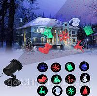 Лазерный проектор Star Shower Laser Звездопад лазерный луч As Seen On TV рождественские украшения Крытый Откры