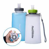 Naturehike силиконовая бутылка складной воды спорта на открытом воздухе мягкая чашка портативный питьевой мешок