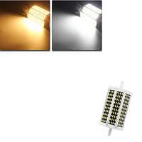 DIMMABLE R7s 118mm 15W 120 СМД 4014 LED теплый белый чистый белый свет лампы лампы AC220V / 110В