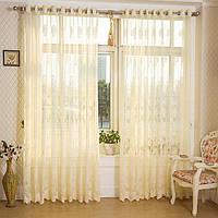 2 панели окна бежевый половина затемнение Скрининг спальни гостиной балкон занавески