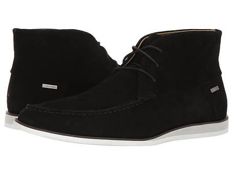 Ботинки/Сапоги (Оригинал) Calvin Klein Kenley Black Calf Suede, фото 2