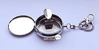 Пепельница металлическая брелок с рисунком 5см (22300)