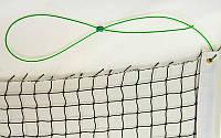 Сетка для большого тенниса с металлическим тросом C-3008