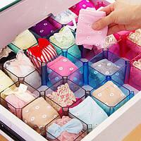 Креативный ящик держатель поделки сетки ящик для хранения белья носки организатор ювелирные изделия кейс для хранения