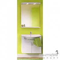 Мебель для ванных комнат и зеркала Gorenje Комплект мебели для ванной комнаты Gorenje Catania 70 910689 белый глянец