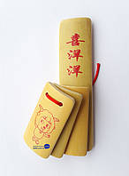 Трещетка из бамбука 13,5х3,5х3,5см (22758)