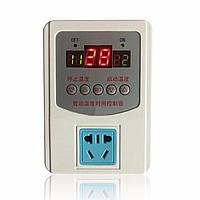 Цифровой LED регулятор температуры термостат с магнитным зондом 220v -9-99 ° C