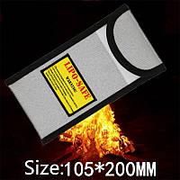 Новая поверхность огнестойкие взрывозащищенные Li-Po батареи безопасности защитный мешок 105 * 200 мм