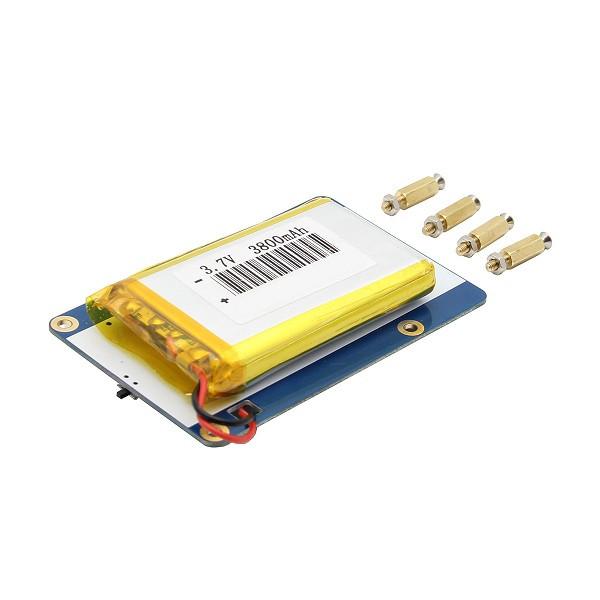Geekcreit® V1.0 Lithium Батарея Плата расширения для сотового телефона/Raspberry Pi 3 Model B/Pi 2B/B+ 1TopShop