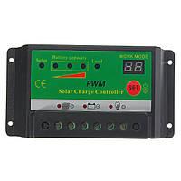 20A 12v/24v ЖК-панель батареи солнечной переключатель контроллер регулятора заряда PWM