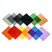 Окончил нейтральной плотности й цветовой фильтр установлен держатель фильтра градиент One все в