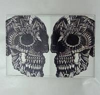 Обложка на Паспорт / Череп Узоры / Экокожа