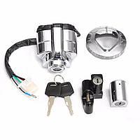 Катушка для капота зажигания Стальное кольцо Замок Комплект для Honda Shadow VLX VT 400 600 750