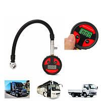 0-200PSI Metal Digital Tire LCD Манометр Датчик давления PSI BAR KPA