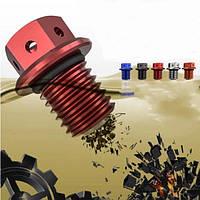 15мм я / d 21мм о / d мотоцикла магнитный трансмиссионное масло винт только для Yamaha самокат
