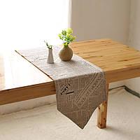 Америки стиль хлопок белье посуда коврик теплоизоляция чаша крышка накладка tablerunner скатертью столом