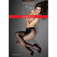 Колготы MARILYN EXCLUSIVE NAKED 20 2; 3; 4; 5, 2 черный, черный; glace; grigio; visone