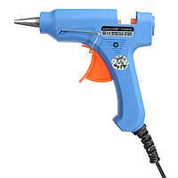 20w профессиональный спусковой крючок электрического горячего расплава клея пистолет для хобби ремесла искусство мини DIY