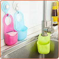 Раковина ванной висит ситечко органайзер для хранения губка держатель мешка кухонные инструменты