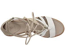 Сандали/Вьетнамки (Оригинал) Frye Brielle Gladiator White Multi, фото 2
