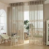2pcs волокна кружева полые из тюля занавески окна спальни Скрининг гостиной домашний декор