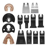14pcs Multitool Пильный комплект для ножей для Dewalt Fein Multimaster Bosch Makita