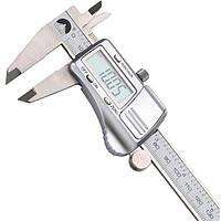 0-150mm/0.01 цифровой суппорты электронный нониусные микрометра калибровочных измерительный инструмент из нержавеющей стали