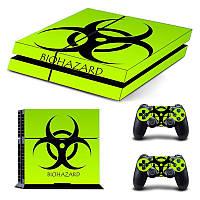 Консольная наклейка для скинов + 2 Защитная кожа для PS4 Play Station 4