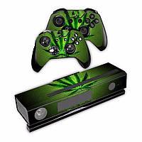 Полное покрытие винила кожи наклейка для Xbox ONE консоль с 2 контроллерами наклейки