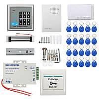 Безопасности электрические клавиатуры RFID замок двери система контроля доступа пароль удостоверения личности