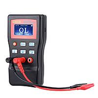 MLC500 авто зазвонил LC метр индуктора конденсатор метр 1% Точность теста 500kHz подключения ПК запоминанию + СМД клип