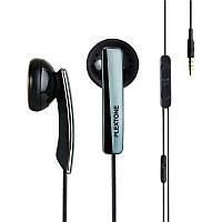 Оригинальный plextone x45m супер-бас в наушники-вкладыши с микрофоном для iPhone Samsung